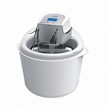 Ice Cream Maker with 1.5L Capacity, LCD Display and Double Insulation