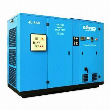 China Two-stage Screw/Piston Compressor Station with Air Intake Filter and Highly Efficient Type