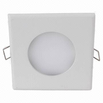 China 6W 450lm Cool White Indoor LED Panel with 100 to 240V AC Voltage, Sized 100 x 100 x 14mm