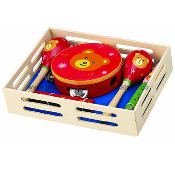 China Wooden Toy Musical Instruments With Fashion Style Wooden Music