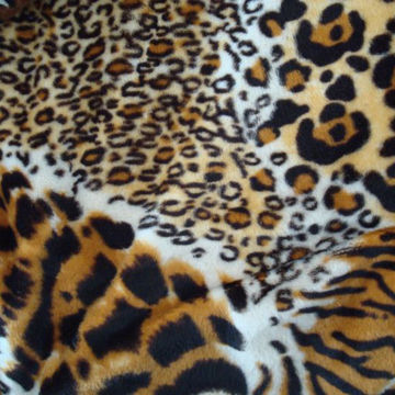 Poly velboa fabric for toy, shoes fabric