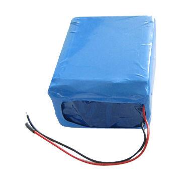 China Li-ion Cylindrical Battery Pack, 18650 7.4V/4400mAh, 2S2P