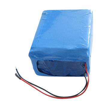 China Li-ion Cylindrical Battery Pack, 18650 7.4V/4400mAh, 2S2P