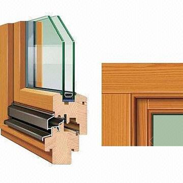 Window frame with wood aluminum pvc material global sources for Window material