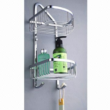 Brass bathroom rack bathroom fittings accessories with for Bathroom accessories racks