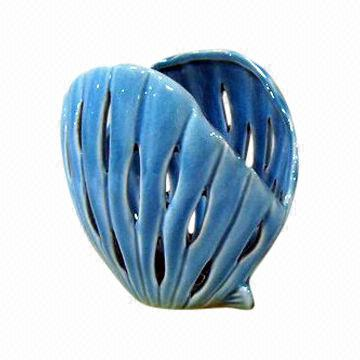 China Ceramic Sea Shell Candle Holder Can Be Suitable For