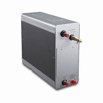 China Steam Bath Generator with Digital Control Panel and Stainless Steel Water Tank
