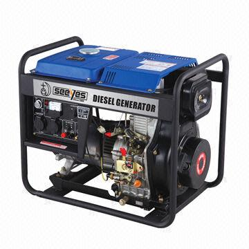 6kW CE and EPA Certified Diesel generator with Electric Starter