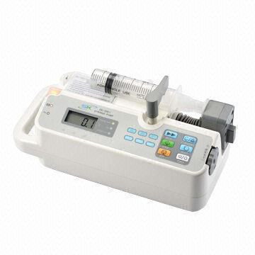 China Syringe Pump, Compliant with CE Standard