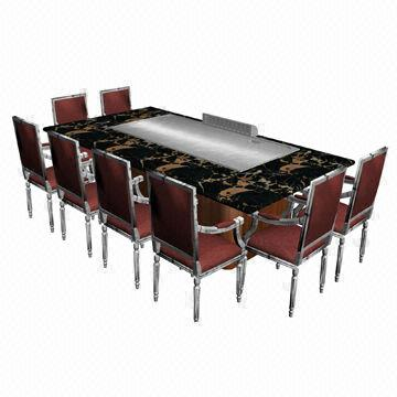 korea gas teppanyaki grill made of stainless steel and alloy global sources. Black Bedroom Furniture Sets. Home Design Ideas