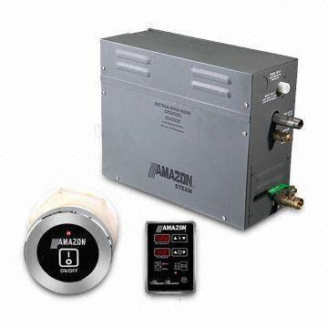 Steam Bath Generator with Powder Anti-corrosive Coated, Durable and Temperature Displayed on Panel