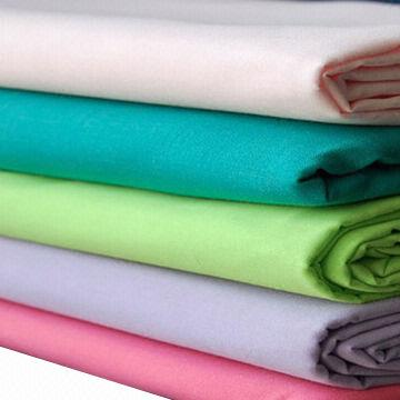 Polyester and cotton blend fabrics used for shirt and for Cotton polyester flannel shirts