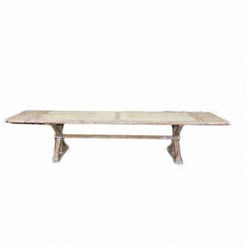 3m long dining reproduction wood table global sources for Table 3m long