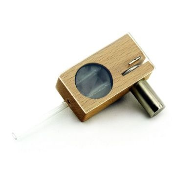 Glass pipe secret pipe metal pipe one hitter wood pipe instock in us
