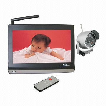 Wireless CCTV Receiver and Cameras, 2.4GHz Transmission Frequency