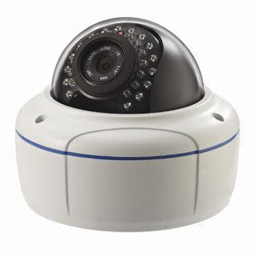 China CCTV Megapixel IP Camera with 2MP, 2.8 to 12mm Varifocal, Waterproof, Day/Night