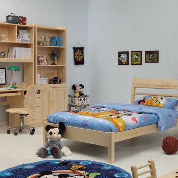 Kids\'/Children\'s Bedroom Furniture/Solid Wood Furniture, Pine ...