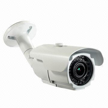 CCTV Megapixel IP Camera with 2MP, 2.8 to 12mm Varifocal, Waterproof, Day/Night