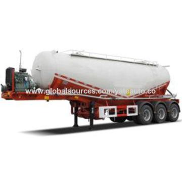 China 42cbm Bulk Cement Tank Trailer
