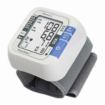 Fully Automatic Blood Pressure Monitor, Stores 60 Memory Records, Large and Easy to Read