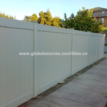 China Fencing, UV-resistant and Lead-free, Suitable for Privacy