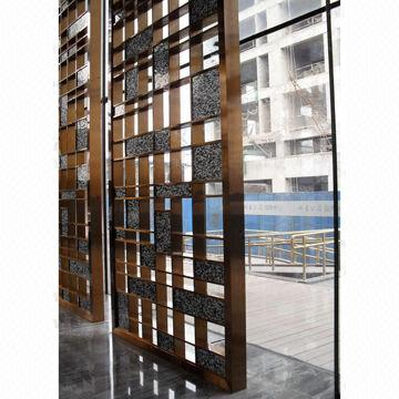 Room divider screen for wall cladding global sources for Wall screen room divider