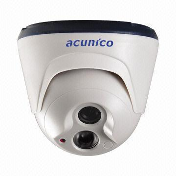 800TVL IR Dome 960P CMOS Camera, IR-cut, 20m IR Distance, 12V DC Power Supply