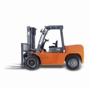 Forklift with Isuzu 6BG1 Engine and 10T Operating Weight