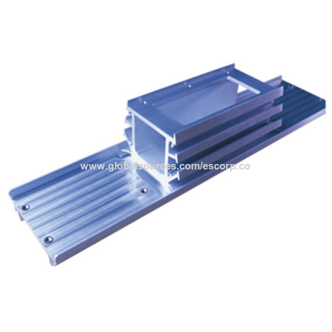 Heatsink, Made of Aluminum, Die casting, Anodized or Electrophoretic
