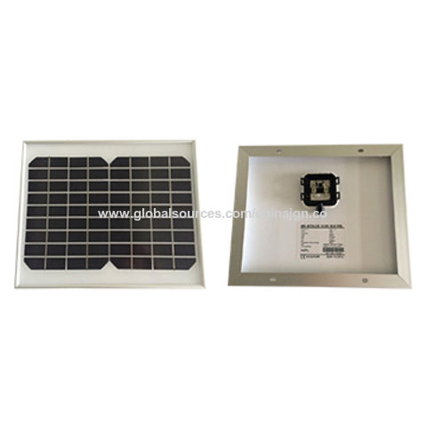 China 10W/18V Portable Solar Panel for Camp Solar Light, CE Certified