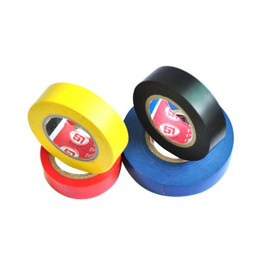 Vinyl Electrical Insulation/Self-adhesive Tapes with 5m Length, Made of PVC-coated with Rubber