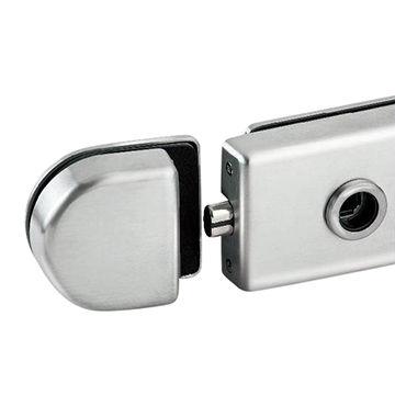 Taiwan Magnetic Glass Door Locks, Radius Shape