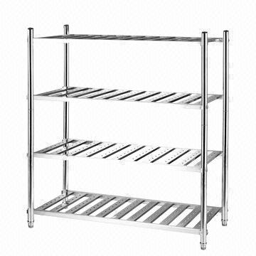 4-layer ladder storage rack/1 meter, stainless steel 201 or 304 ...