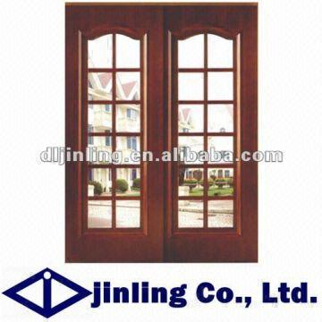 Modern solid wooden doors design wooden glass sliding for Door n window designs