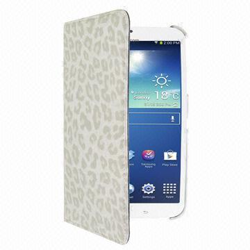Wholesale Price Gray Color Folio Protective Case for Samsung Galaxy Tab 3 8.0 T3100/T3110