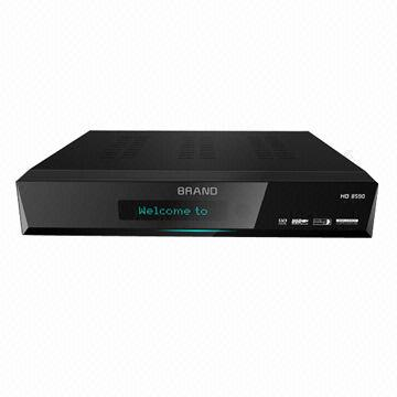China HD DVB-S2 Set-top Box, CA + 2 USB + Ethernet, PIP Supported, YouTube, Weather and News Supported, PV