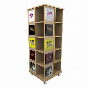 T shirt display rack made of mdf board global sources for Portable t shirt display