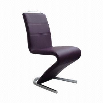 Contemporary z shape dining chair high back sized 460 x for Z shaped dining room chairs