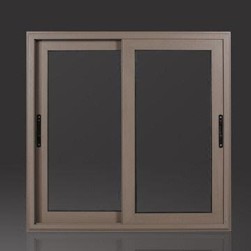 60 Series Thermal Break Sliding Window With Built In Fly