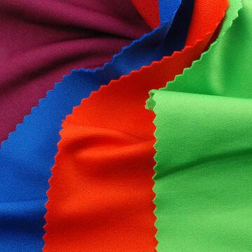 French Terry Fabric, Made of 88% Poly + 12% Spandex with Wicking