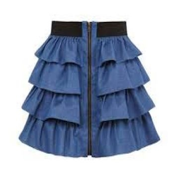 Women's skirts, Knitted fabric, 100% cotton, 160 gsm, Fresh order