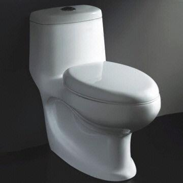 Wash Down Dual Flush One Piece Toilet Made Of Ceramic Material Sized 720 X 390 X 680mm