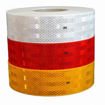 China ECE 104R Reflective Tape, ECE and CE Certifications, High Reflective for Trucks/Trailers