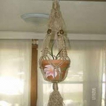 All Natural Heavy Duty Colorful Decorative Macrame Jute Plant Pot Hanger For Indoor Outdoor Gar Global Sources
