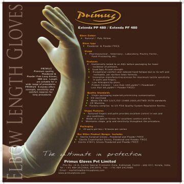 length long latex Gloves