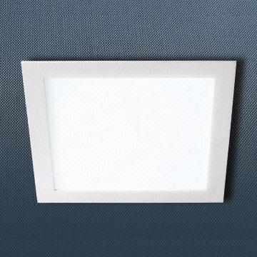 LED Recessed Light Square Tthin 30W Dimmable Die Casting Aluminum 3528