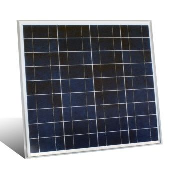 China 50W Poly Solar Panel, 3.11A Short Circuit Current
