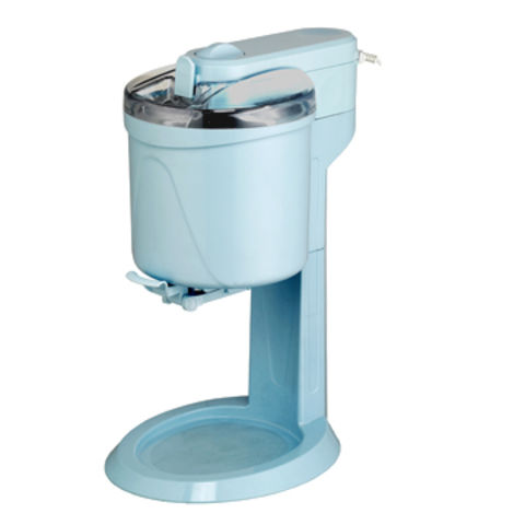 Ice cream maker with stand and bowl