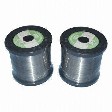 China Heating Wire, Fe-Cr-AL, Nichrome, Constantan and Stainless Steel Wires are Available