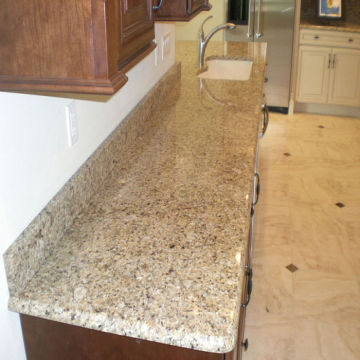 New Venetian Gold Granite Stone Kitchen Countertop With